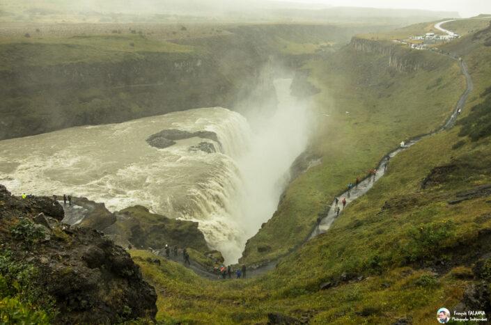 Fsai190827 017 Islande Gullfoss Waterfall
